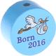 motivo born2016 celeste